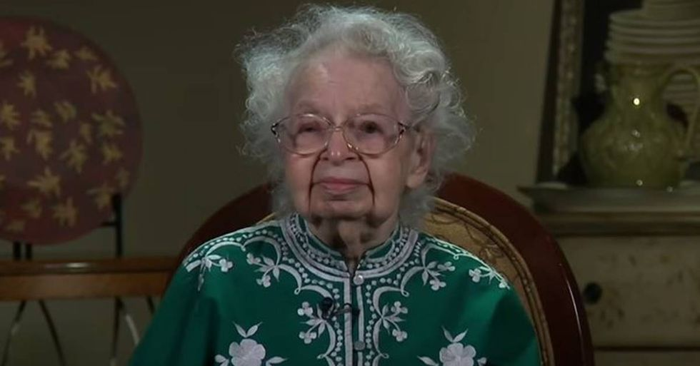 103-Year-Old Woman Vows To Live Long Enough To See Hillary Clinton Elected