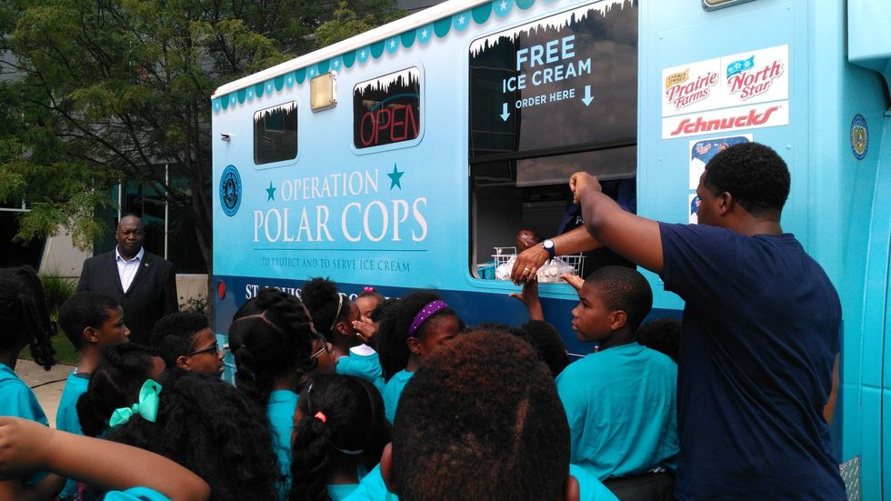 St. Louis Cops Try Out A New Policing Tool: Free Ice Cream