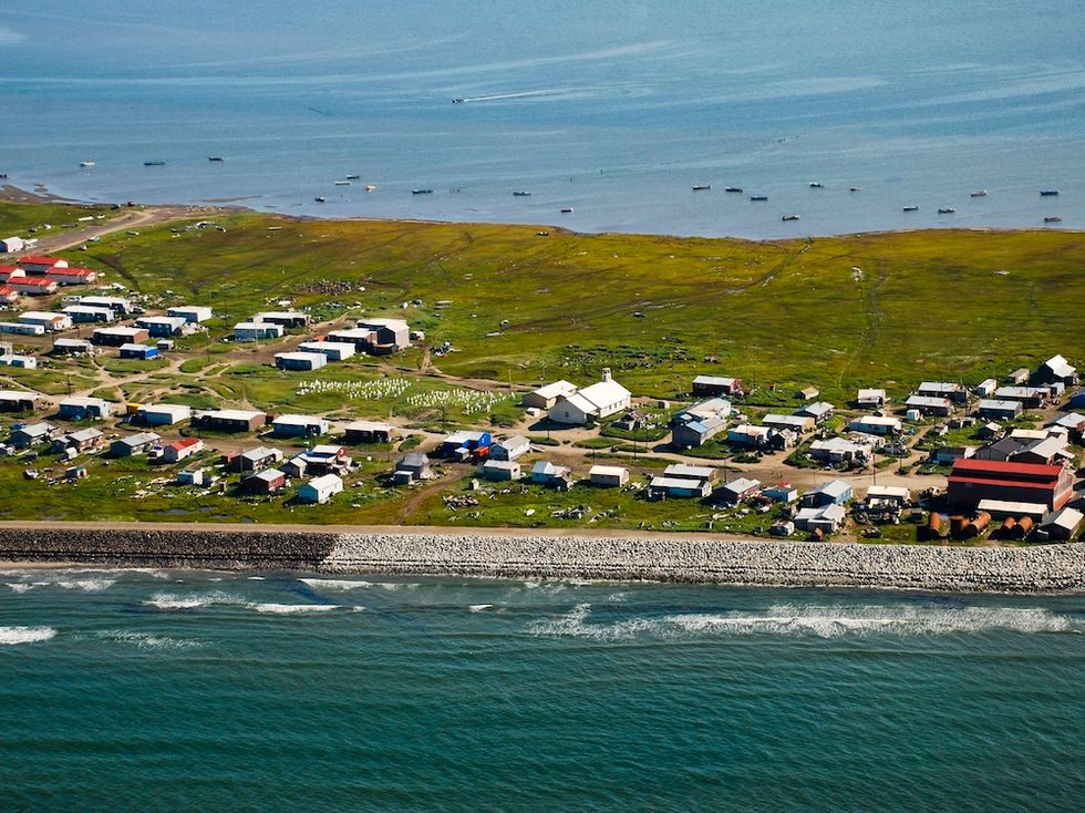 This Entire Alaskan Village Has To Relocate Thanks To Global Warming