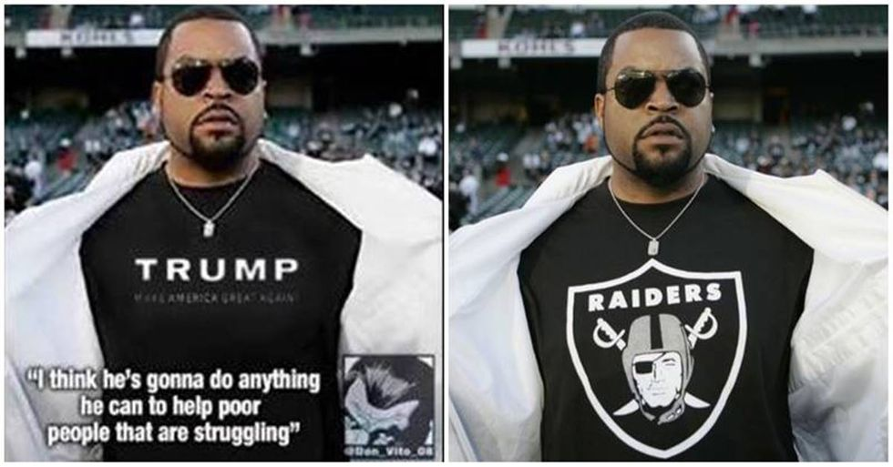 Ice Cube Slams Donald Trump For 'Stealing His Endorsement'