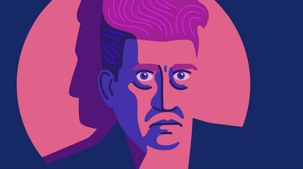 """To Get Better Ideas, David Lynch Says You Need To """"Catch"""" Creativity"""