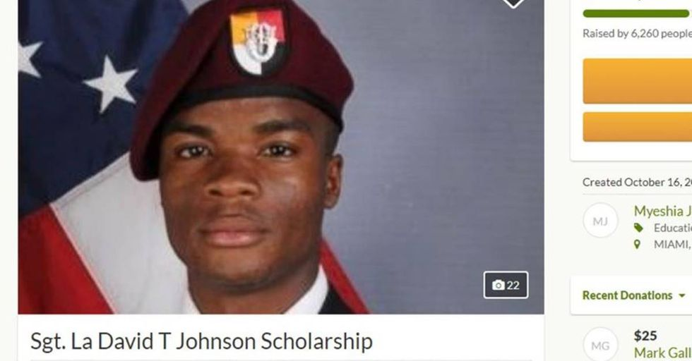 After Trump Disrespected A Fallen Soldier, A GoFundMe Page Raised Over $400K For The Soldier's Children