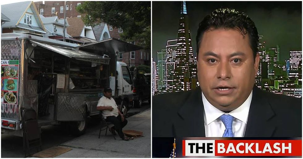 Trump Supporter Warns Americans Of 'Taco Trucks On Every Corner'
