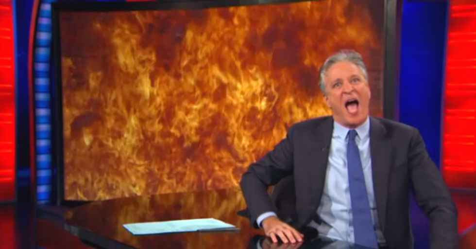 Jon Stewart Has the Best Goodbye for Fox News