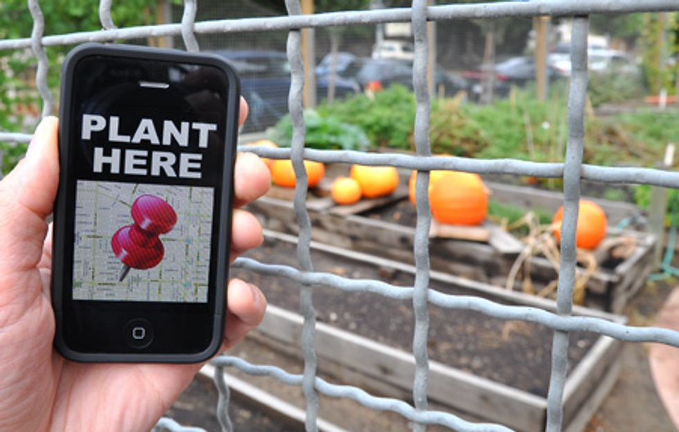 Garden Sharing Farming Meets Social Networks Good