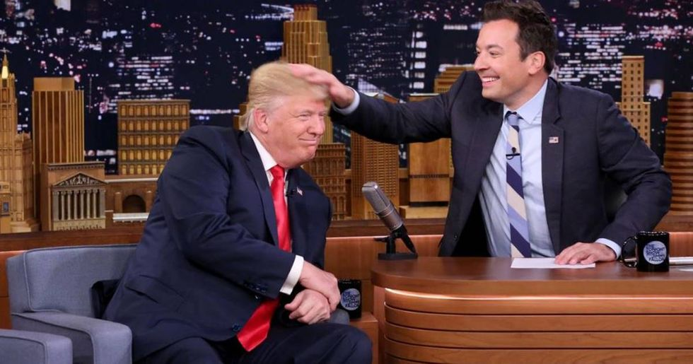 Twitter Reacts To Donald Trump's 'Tonight Show' Appearance
