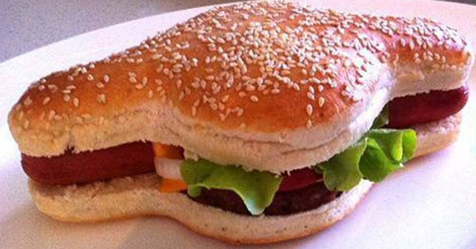 Australian Inventor Brings Burgers And Dogs Together Beneath The Same Bun