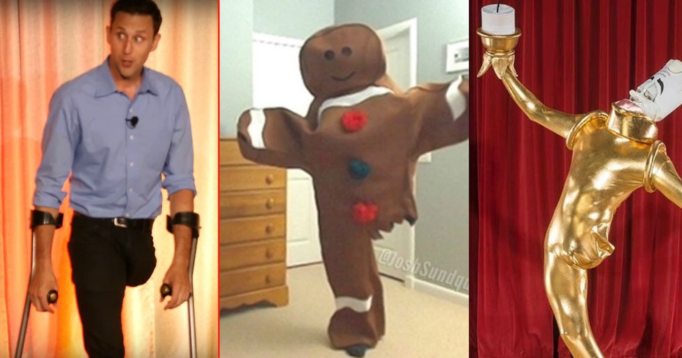 This U.S. Paralympian Known For His Creative Halloween Costumes Has Outdone Himself This Year