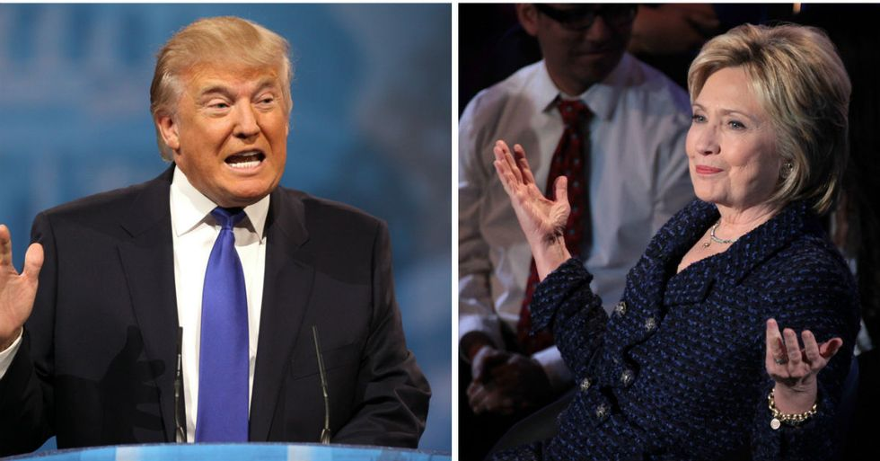 Clinton And Trump Are Tied Heading Into First Debate