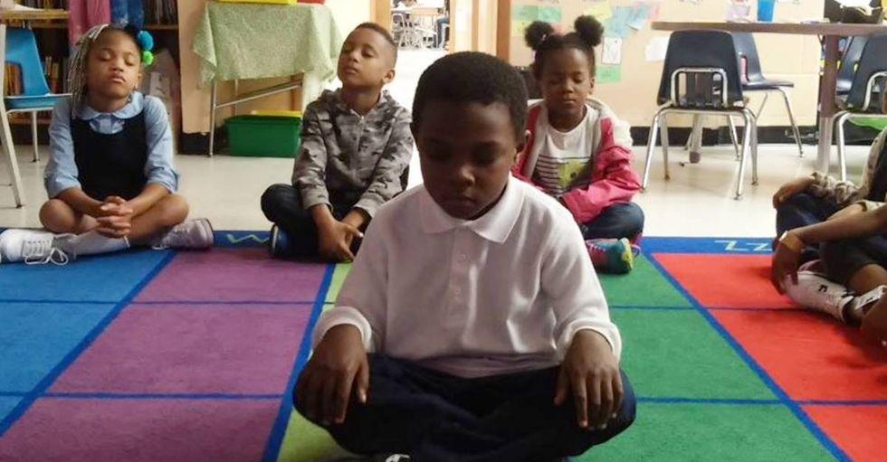 Baltimore Elementary School Teaches Meditation