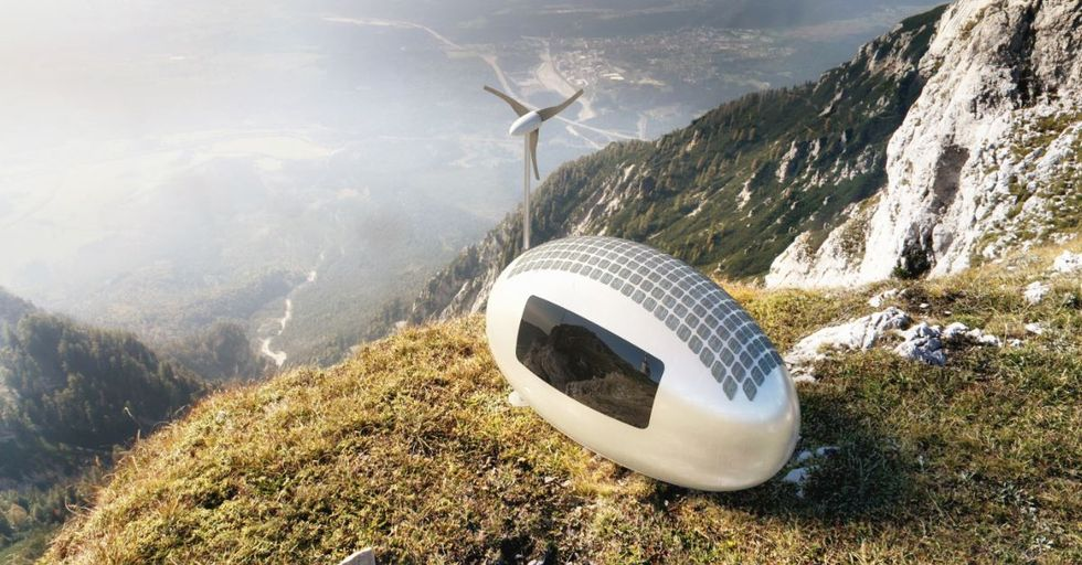 Get Off The Grid in Style With This Eco-Powered Micro-Home