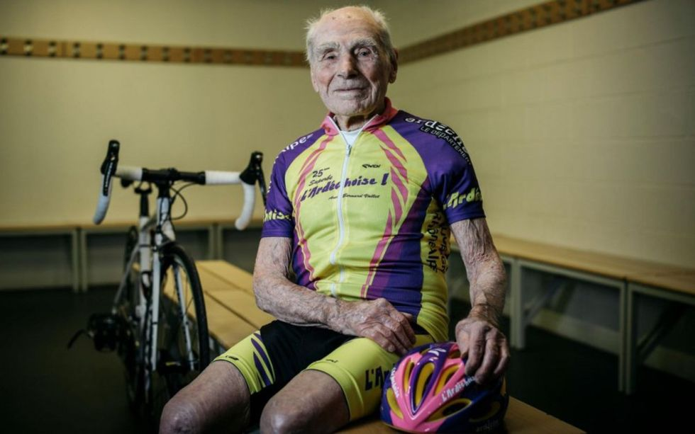 105-Year-Old Cyclist Robert Marchand Is The World's Fastest Centenarian
