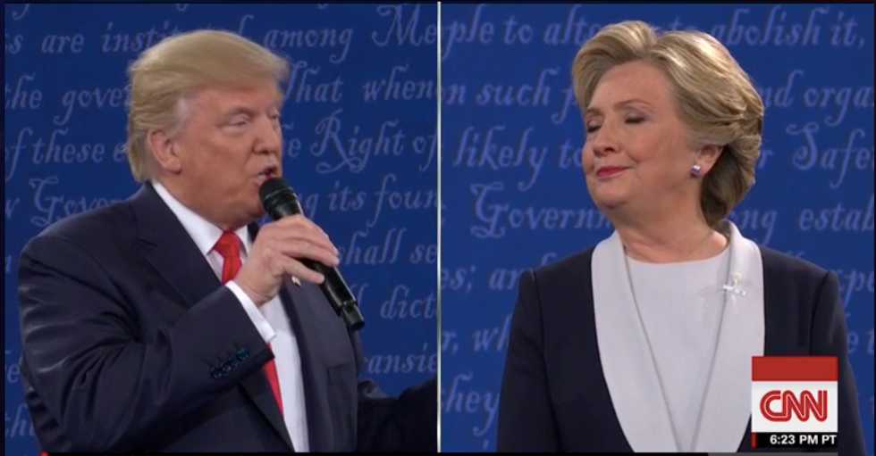 This Is How Donald Trump Responded In The Debate About His Treatment Of Women