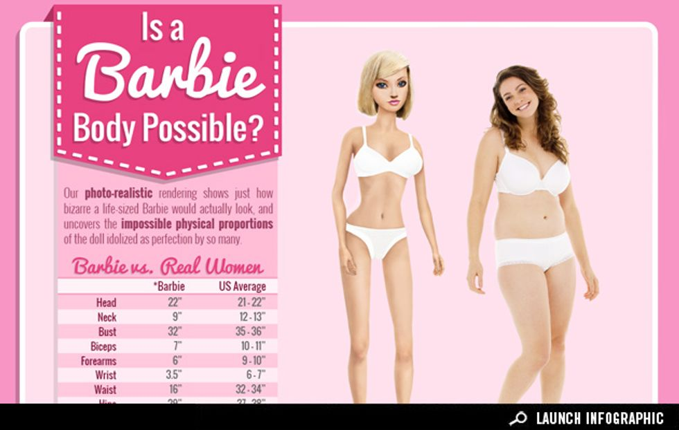 Why It's Physically Impossible to Look Like Barbie