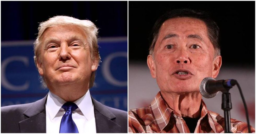 George Takei Slams Donald Trump's Assault On The Constitution