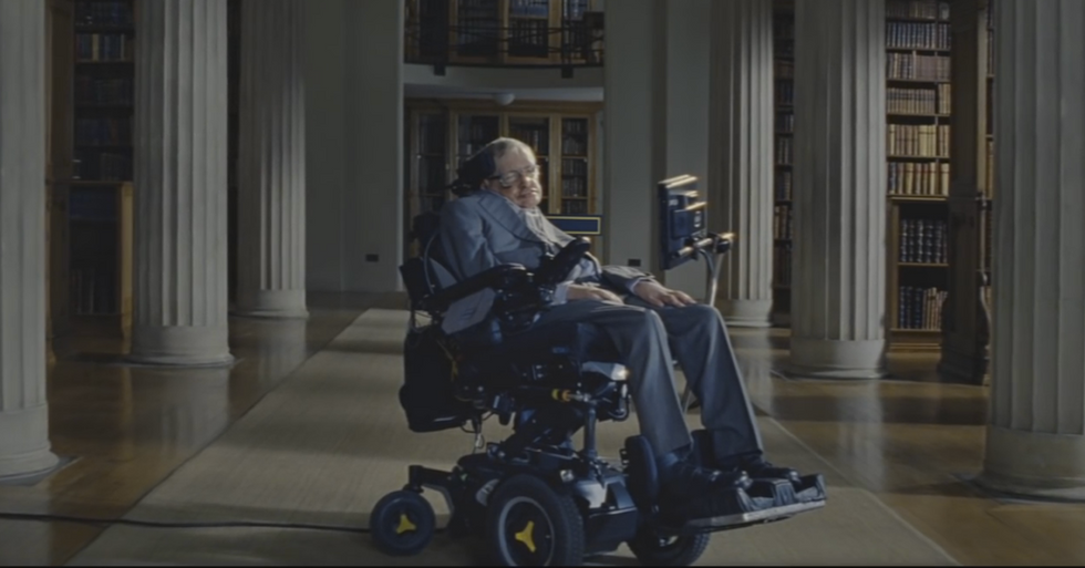 Stephen Hawking's Latest PSA Takes On… Diet Tips