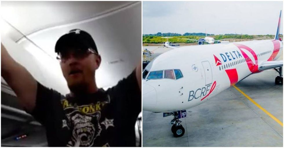 Delta Bans Obnoxious Trump Supporter For Life