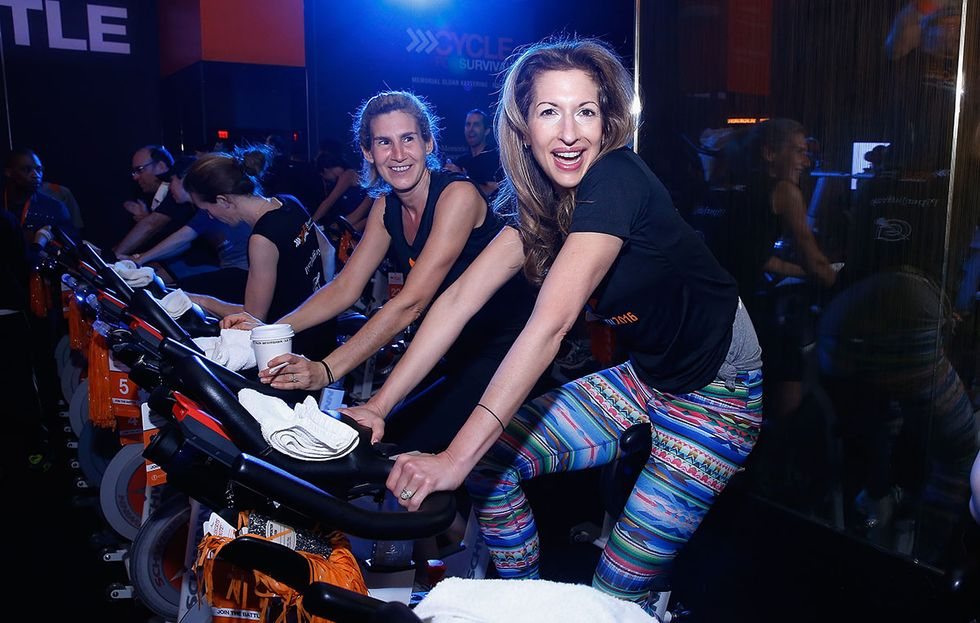 The Sport That Changed Me: OITNB's Alysia Reiner On Spinning Through Life