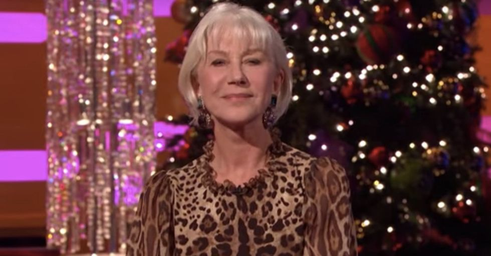 Helen Mirren Speaks For All Us In This Quick Speech Summing Up 2016