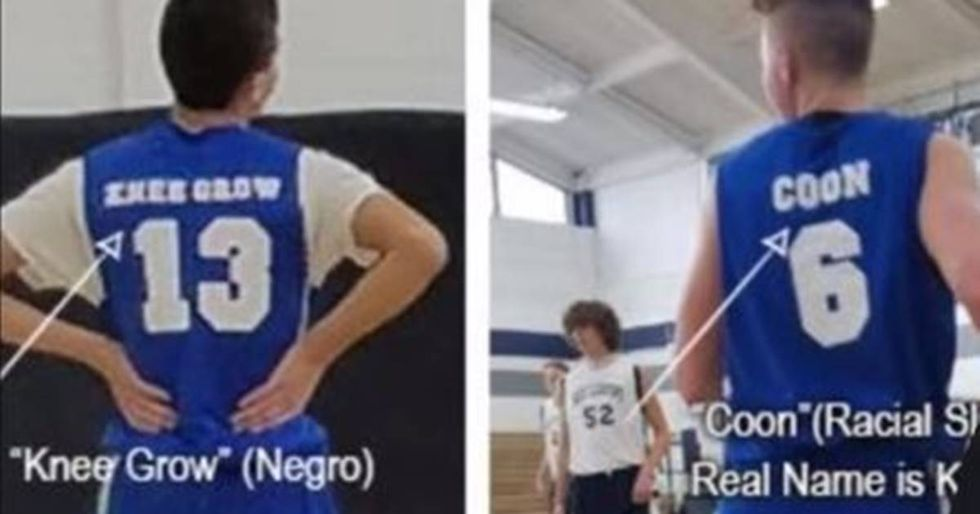 Kids' Basketball Team Kicked Out Of League For Racist Jerseys