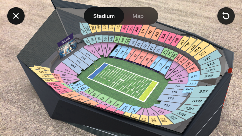 Thanks To AR Technology, Super Bowl Fans Can View Their Seats Before Buying