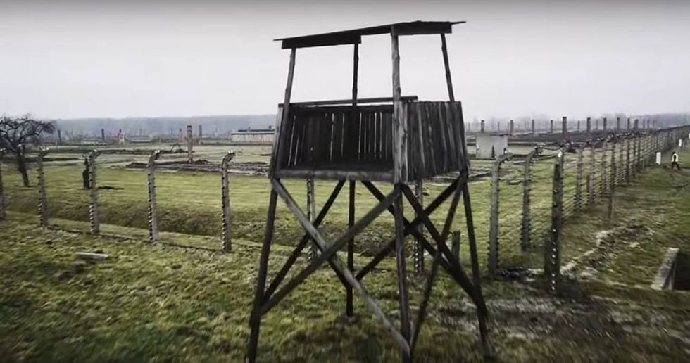 Drone Camera Captures Chilling Images Of Auschwitz