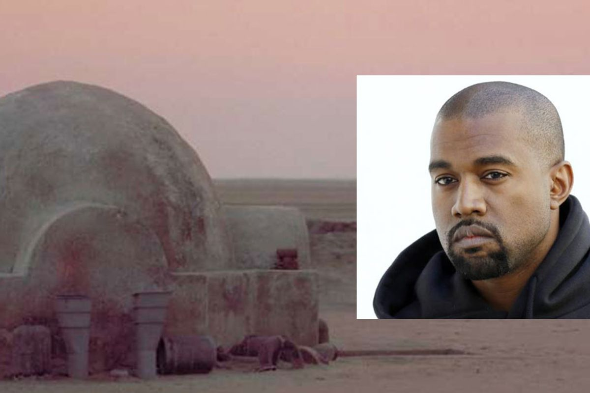 Kanye West is building low-income houses that will look like they're straight out of 'Star Wars.'