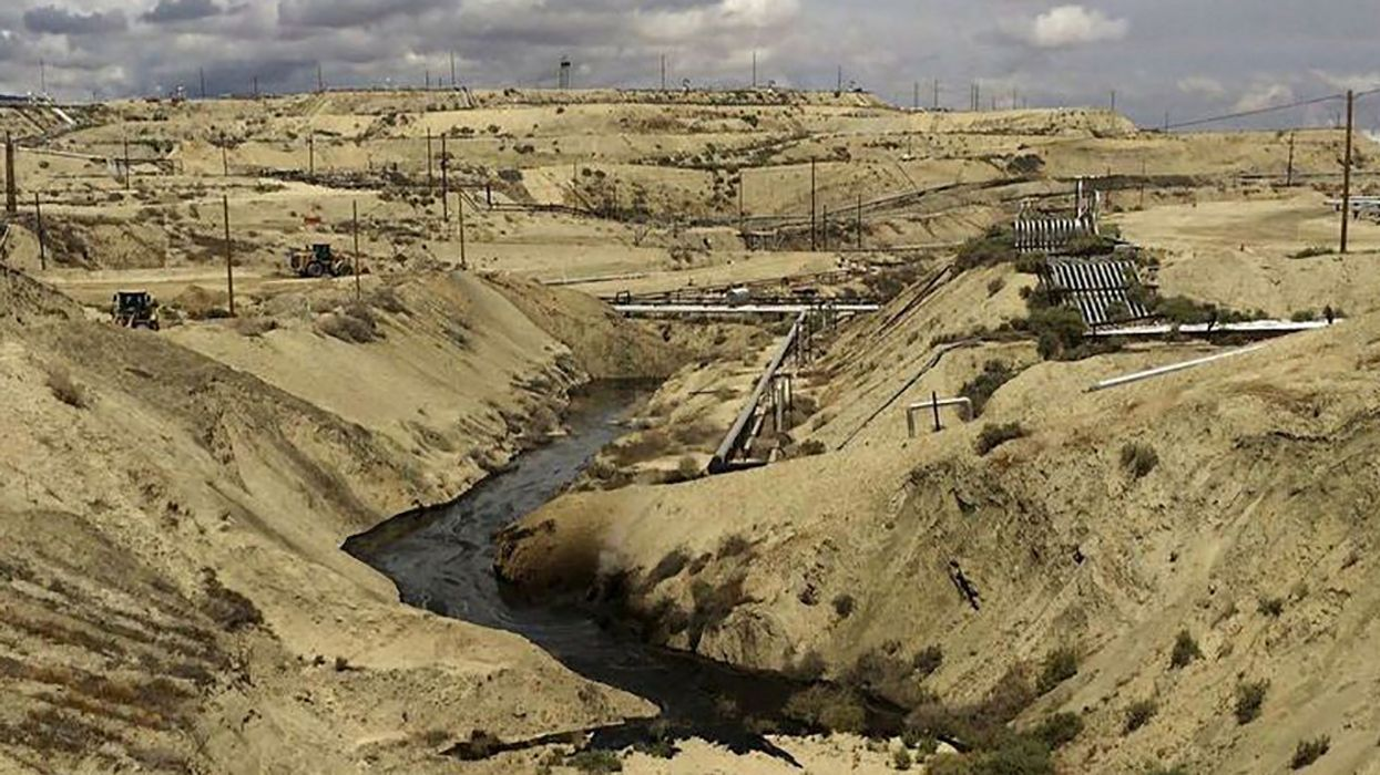 Chevron Has Spilled 800,000 Gallons of Crude Oil and Water Into a California Canyon Since May