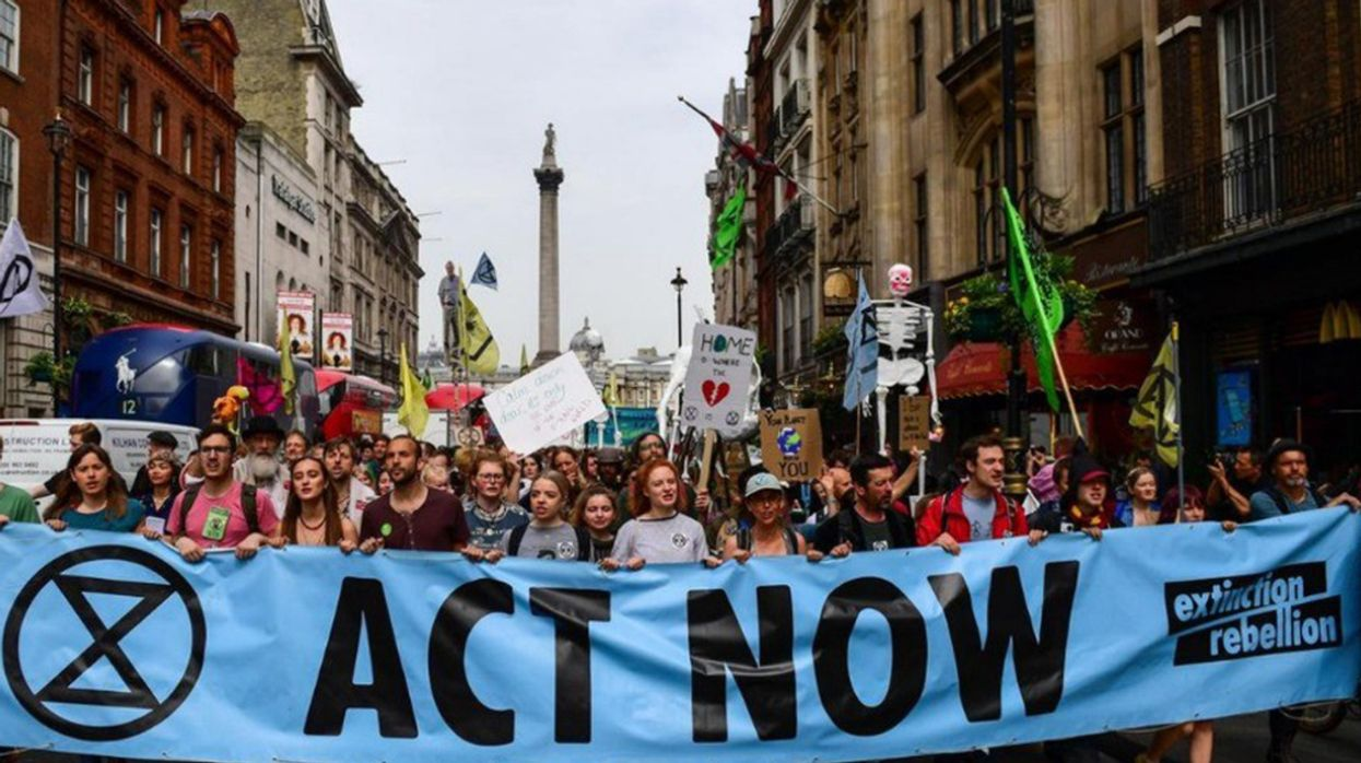 Philanthropists to Raise $62.5 Million for Extinction Rebellion and School Strikers