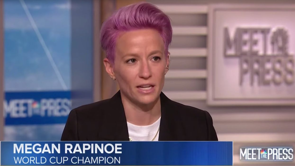 Megan Rapinoe whines about President Trump during 'Meet the Press' interview: 'He is trying to divide so he can conquer'