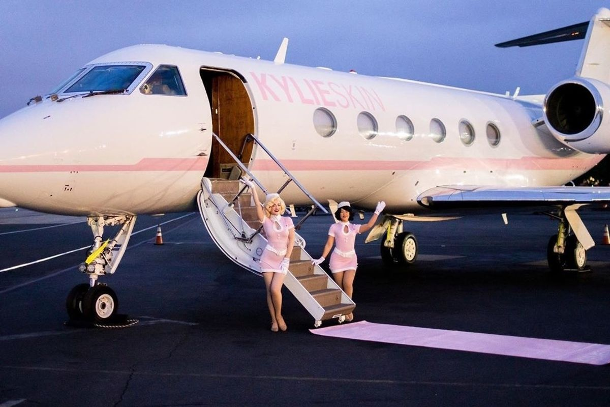 Kylie Jenner's Private Jet Just Called You Poor