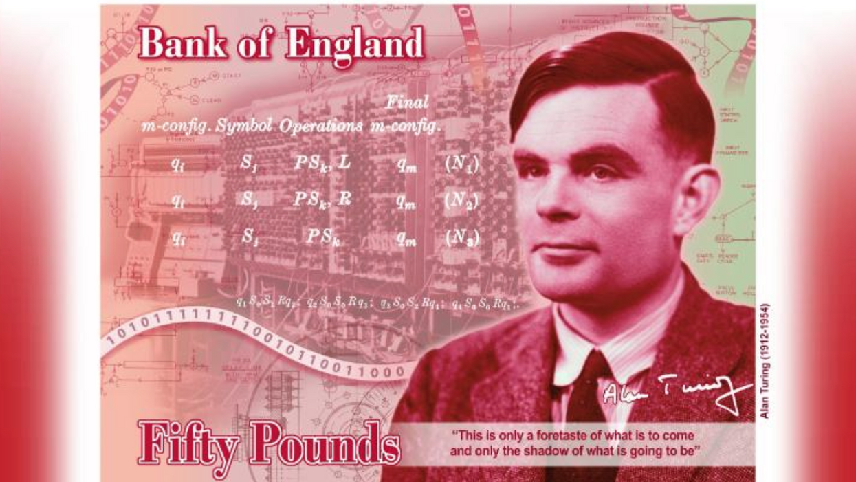 Bank of England to honor Alan Turing on £50 note