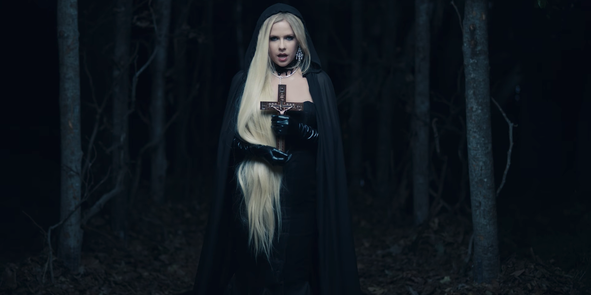 Avril Lavigne's New Music Video Is My New Goth Mood Board