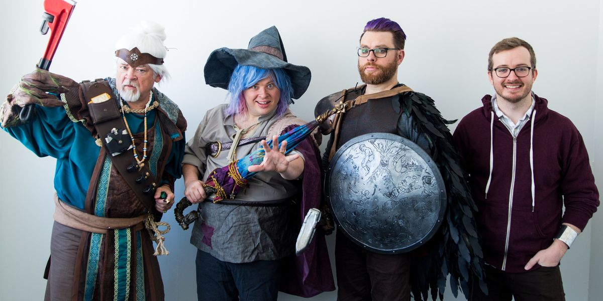 These Unlikely Podcasters Are Bringing Dungeons & Dragons Back