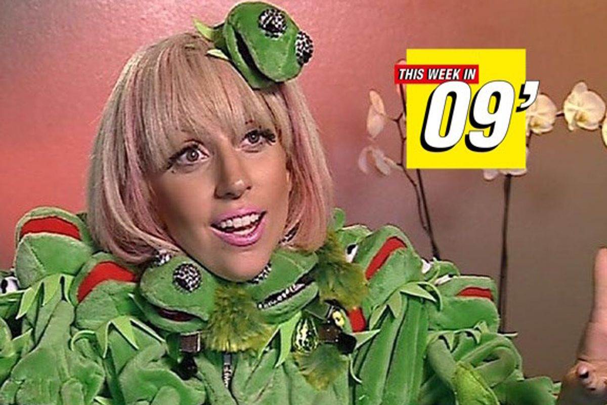 This Week in 2009: Gaga Wore Her Iconic Kermit Coat