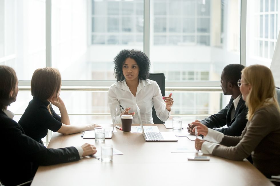 A great leader showcases her ability to delegate