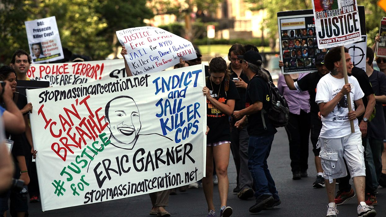 DOJ will not press charges against NYPD officer involved in Eric Garner's death