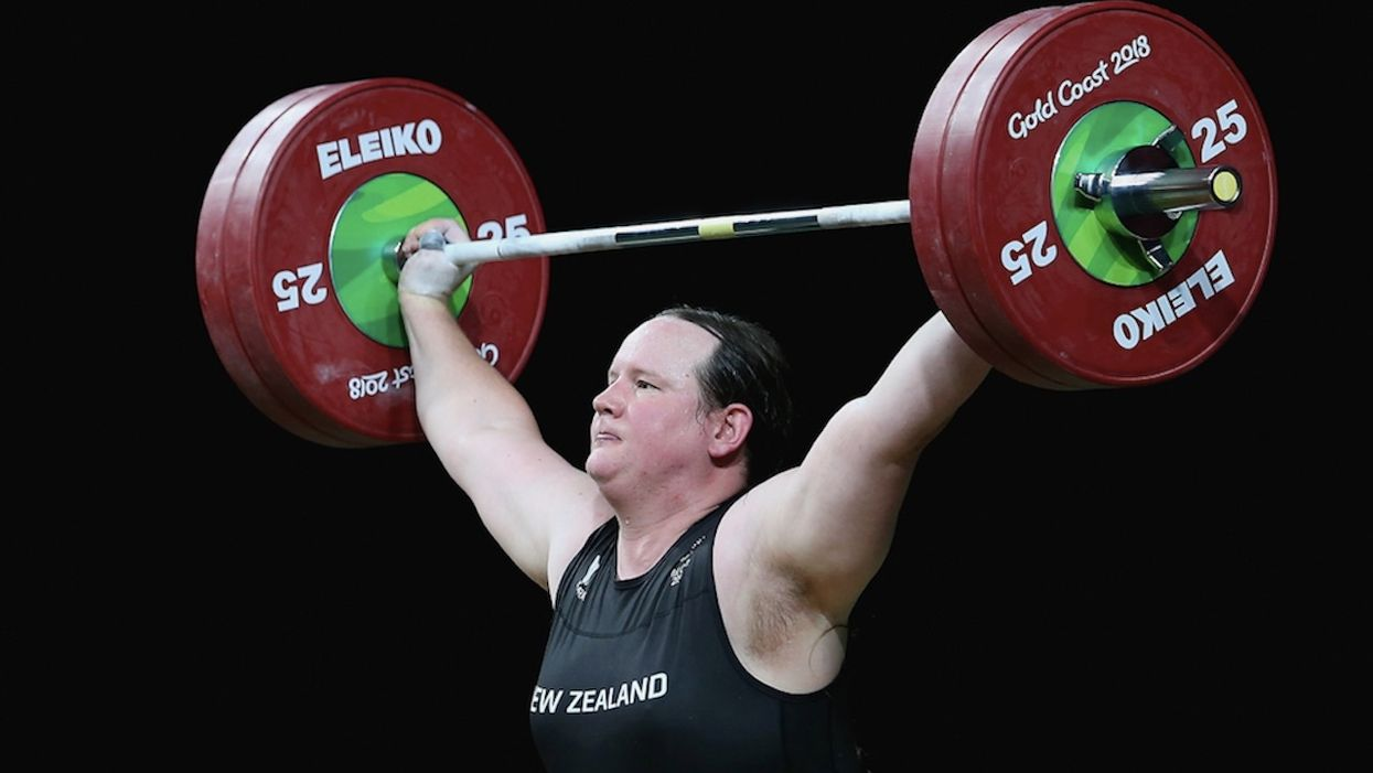 Biological male weightlifter competing as female wins two gold medals in women's competition