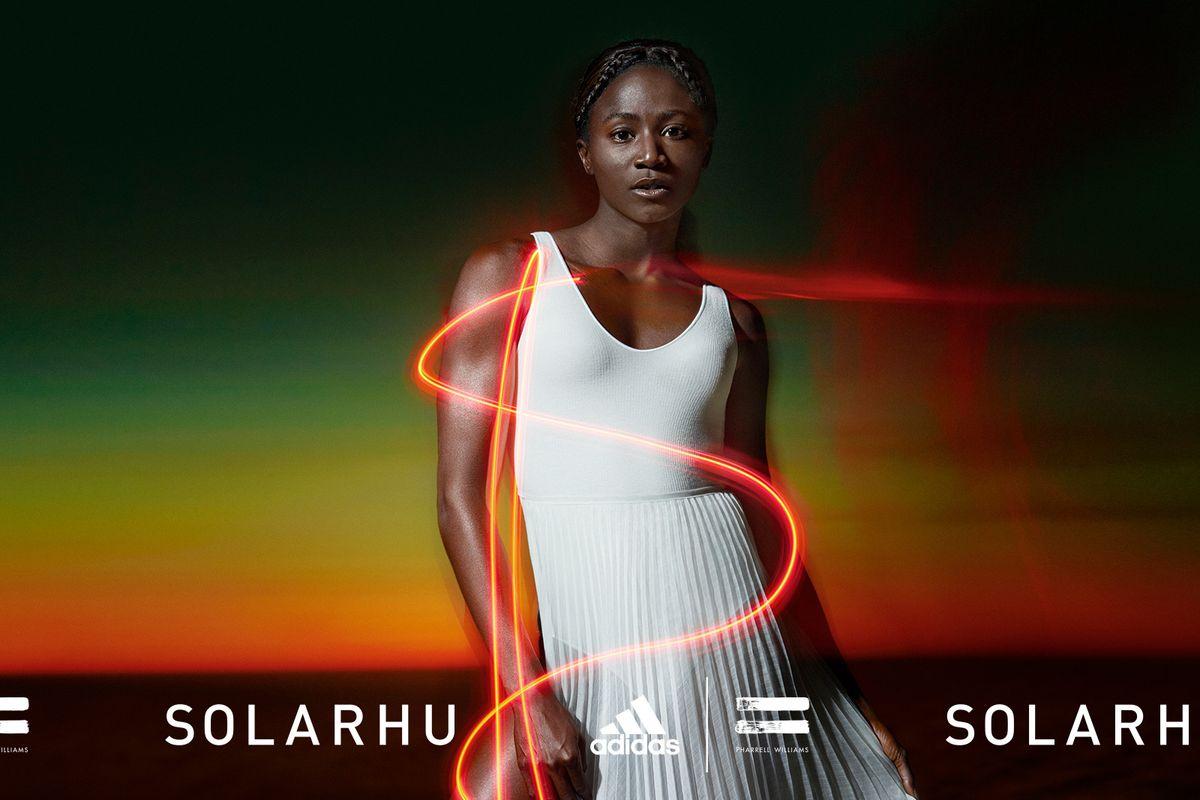 Pharrell Talks New Adidas Campaign Featuring Tori Bowie