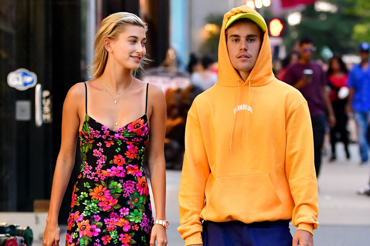 Justin and Hailey Bieber Are Beefing with a Metal Band