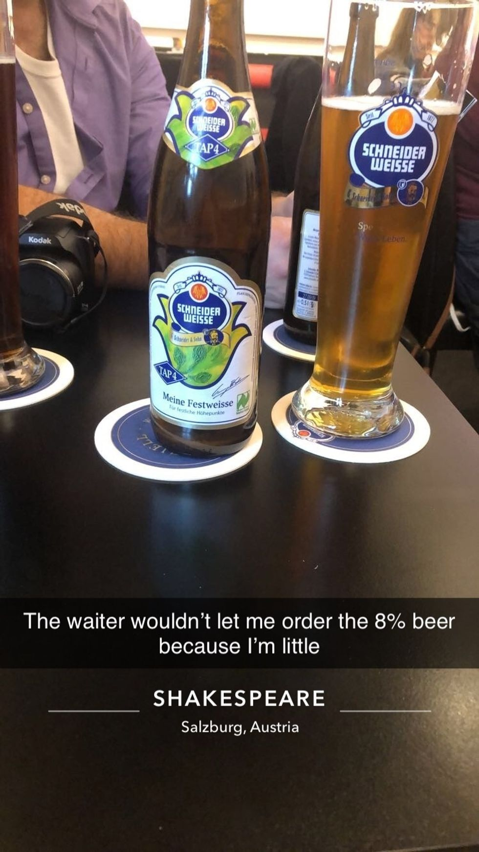 Ordering Beer As A Woman In Austria