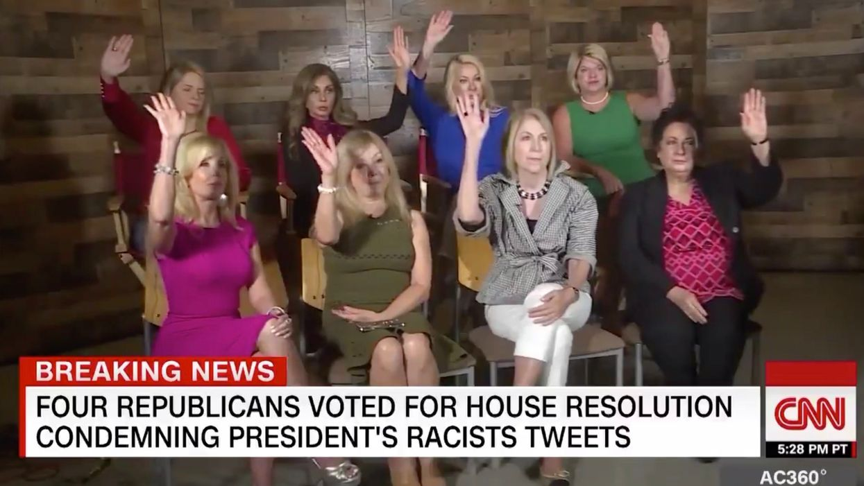 CNN pushes narrative that President Trump is racist to group of women. It brutally backfires.