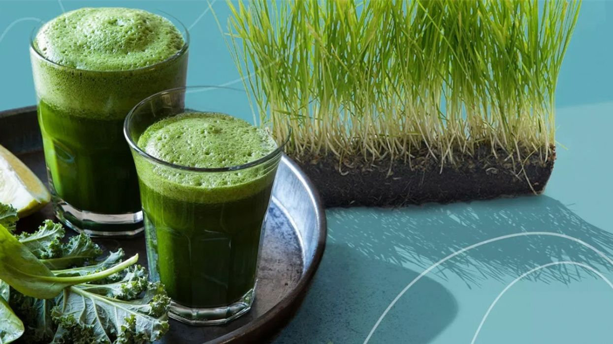 Drink This Pineapple-Wheatgrass Shot for an Anti-Inflammatory Boost
