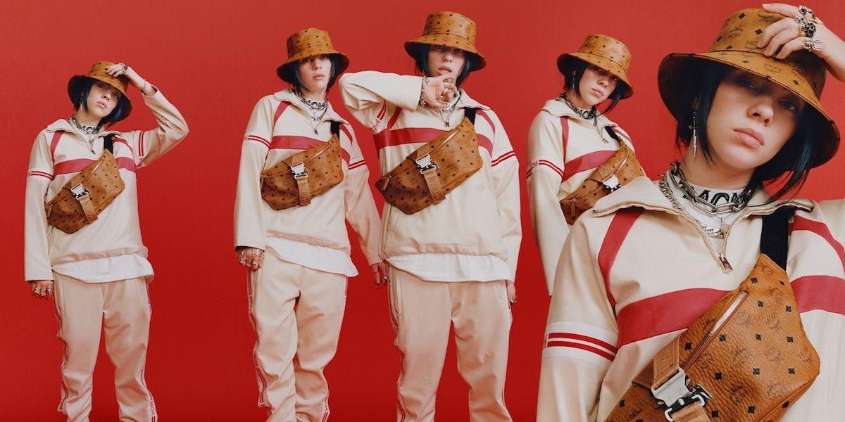 Billie Eilish Stars In MCM's New Campaign Alongside Childish Major