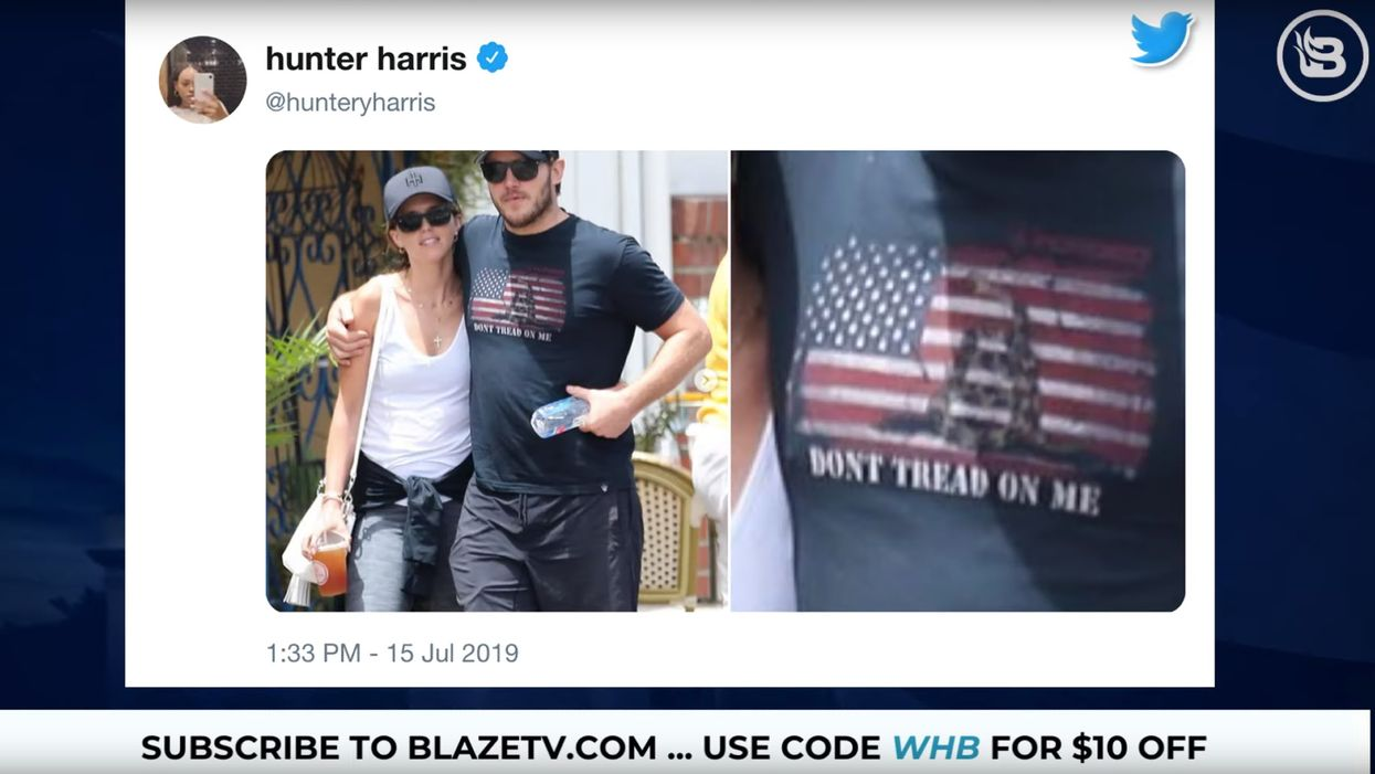 Chris Pratt attacked for wearing a pro-America T-shirt — and the story gets even worse for his attackers