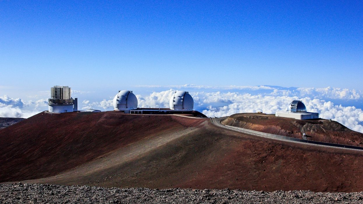 Billion-dollar telescope on sacred mountain in Hawaii evacuated after locals protest its construction