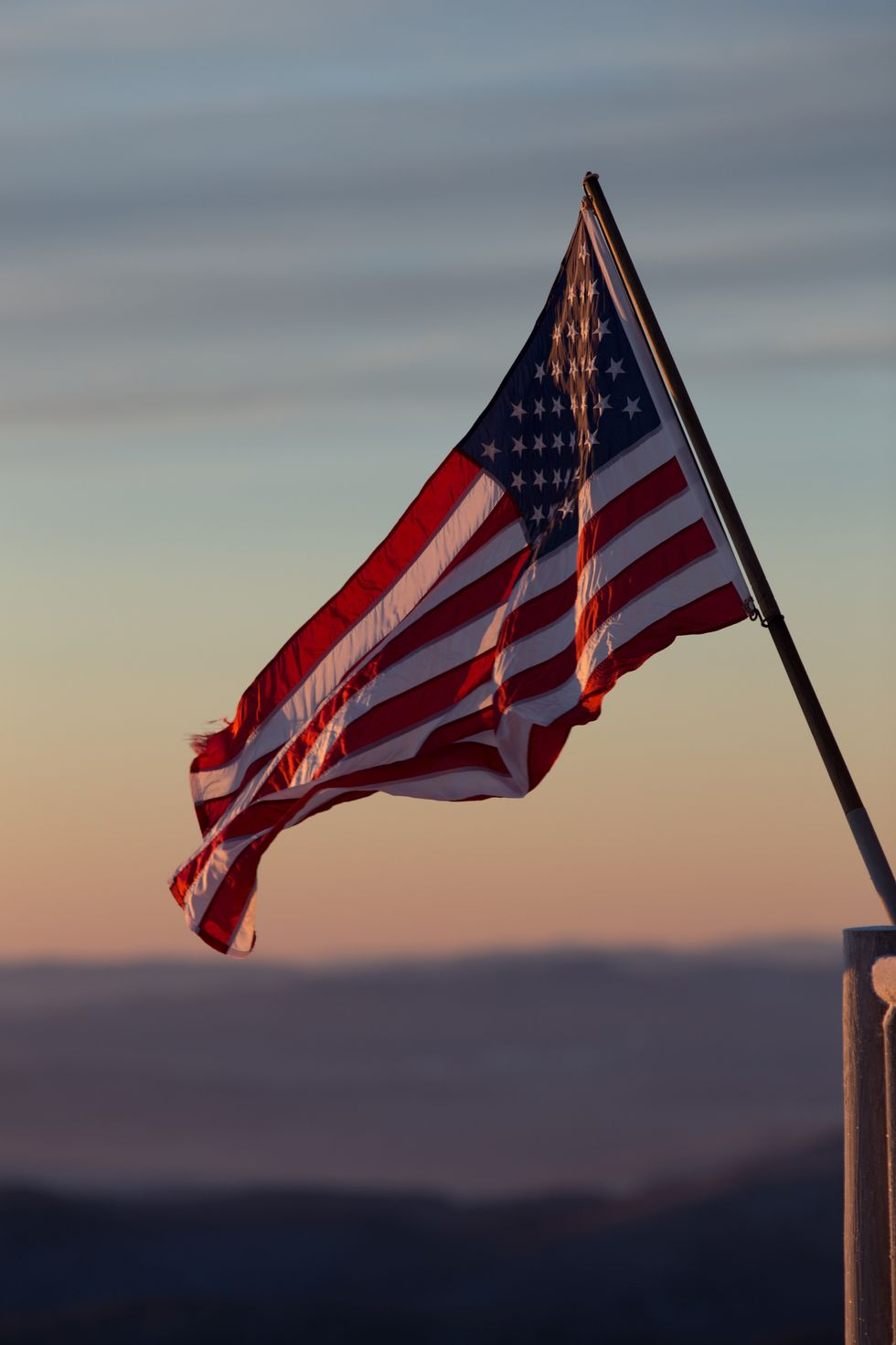 No Matter What Your Political Affiliation, the American Flag Should Not Be Disrespected