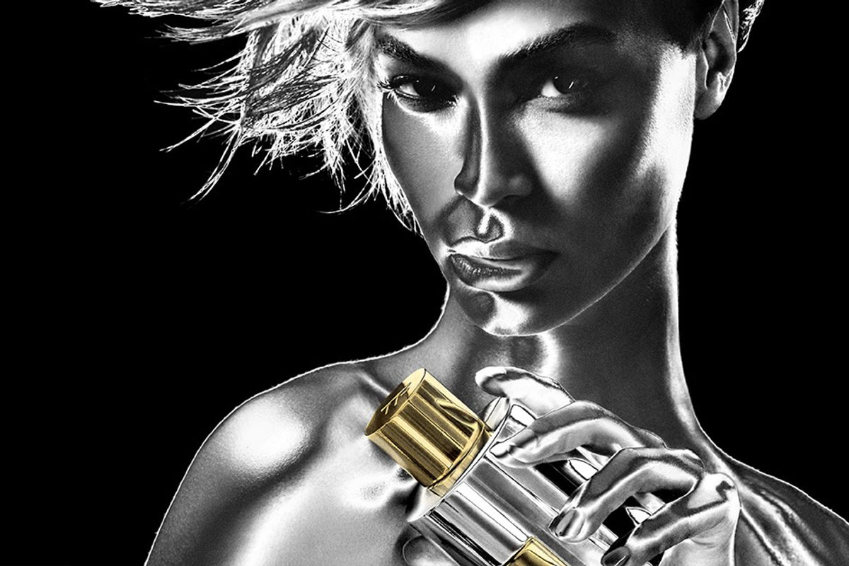 Joan Smalls Goes Metallique for the New Tom Ford Campaign