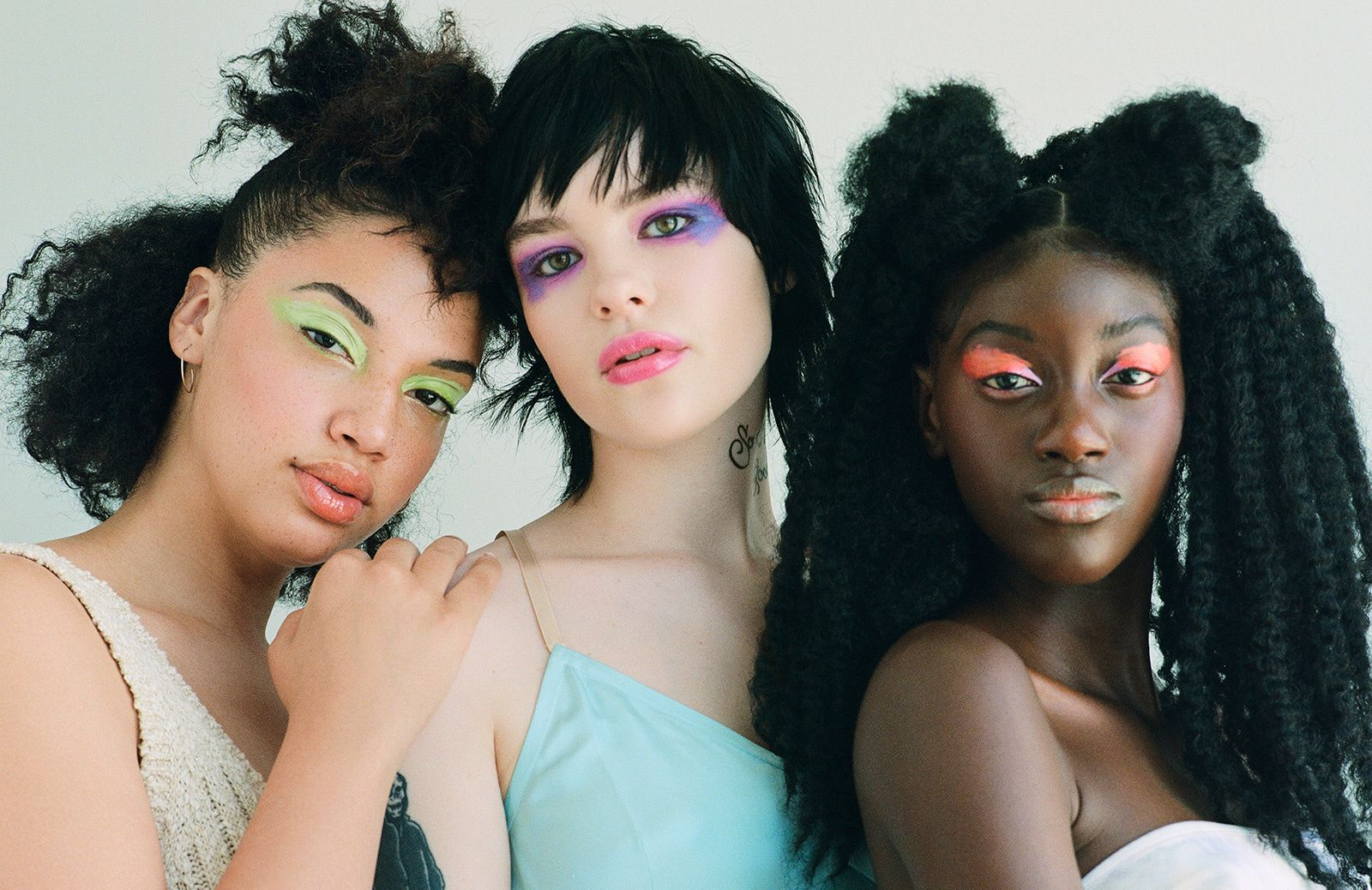 Six Fresh Ways To Wear Neon Makeup