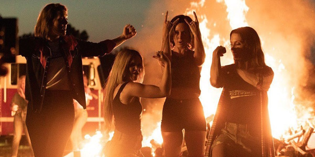 The Highwomen Turn Stereotypically Feminine Clothes Into A Bonfire In Debut Video